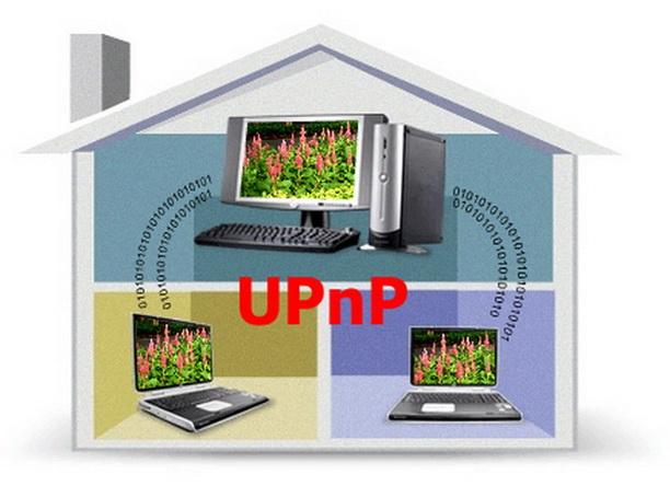 Как включить UPnP
