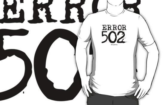 502 bad gateway - как исправить.