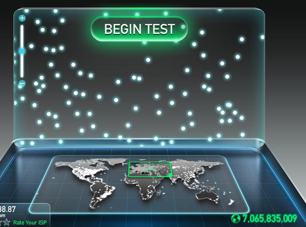 Как проверить пинг интернет соединения.