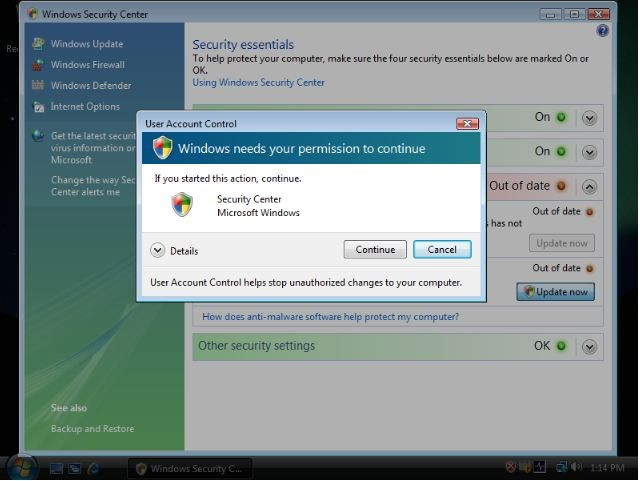 UAC в windows 7 - как отключить?