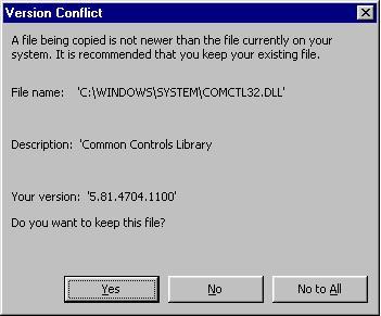 Comctl32.dll ошибка – как исправить в Windows 7 ?