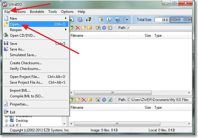 Как на флешку записать windows 7 с помощью UltraISO