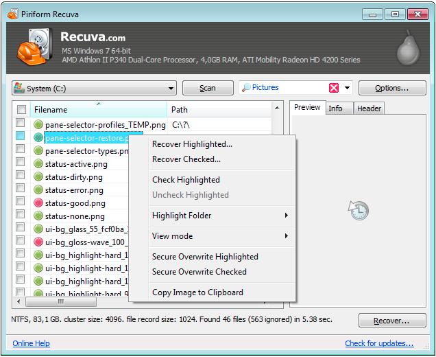 Как восстановить удалённые файлы на компьютере