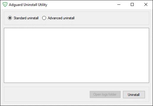 Как удалить adguard