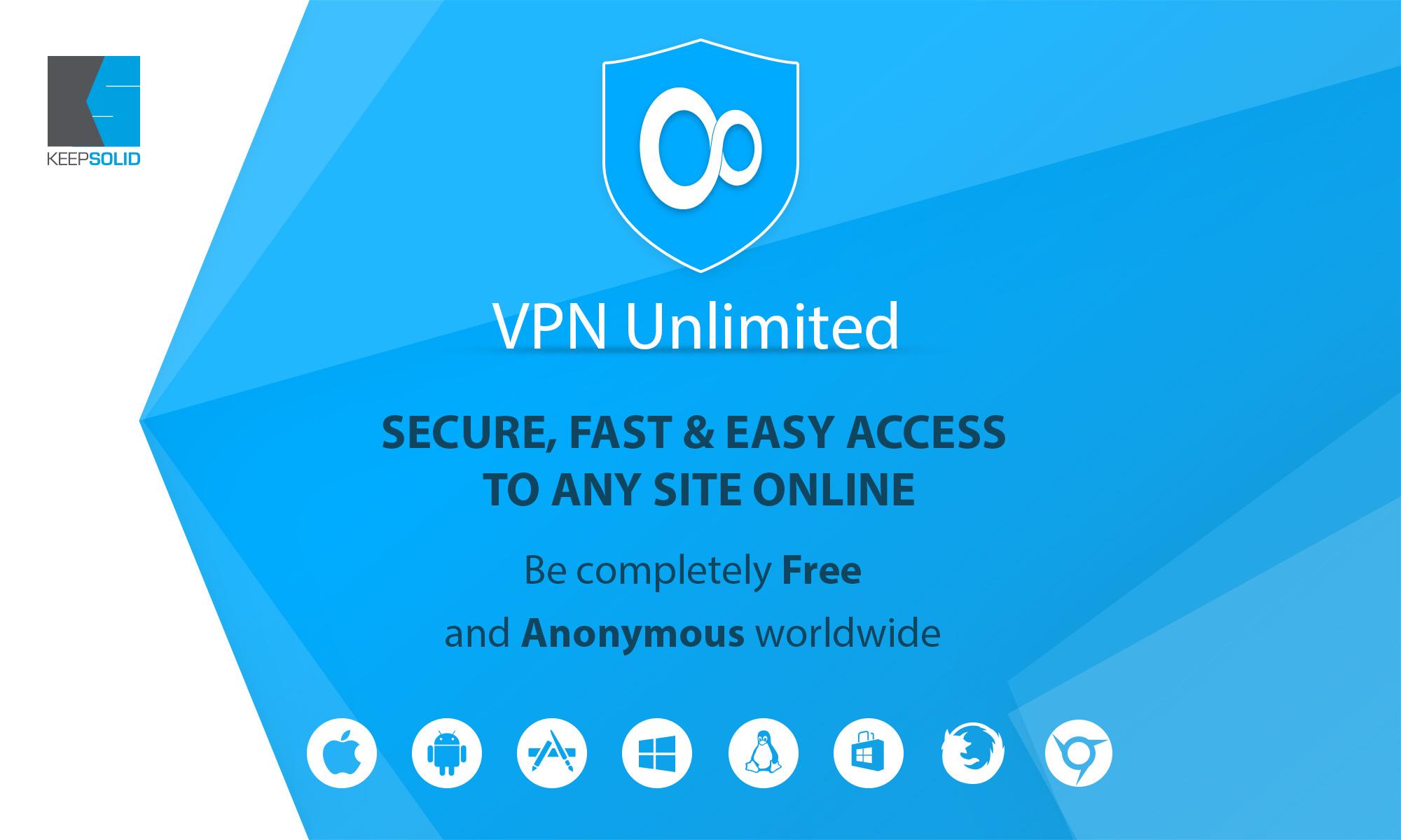 VPN для компьютера Unlimited