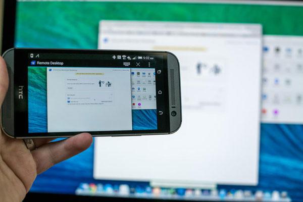 Алгоритм подключения удалённого рабочего стола на устройства с Android и iOS